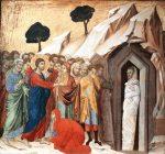 Duccio Di Buoninsegna's THE RAISING OF LAZARUS (1319)